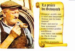 LA PRIERE DU SAVOYARD, Savoie Eternelle, Tastevin, Tonneau, Parchemin, Ed. Combier CIM 1984 - Rhône-Alpes