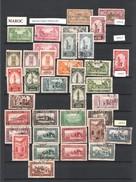 MAROC: Lot De 140 TP Divers ,doublons,ttes époques:poste(protectorats Français,royaume Indépendant Etc.. - Maroc (1956-...)