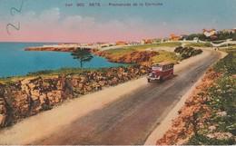 34 Sète Panorama De La Corniche - Sete (Cette)