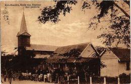 CPA INDONESIA Kei-eilanden, Kerk Van Namaar Met Pastorie (342174) - Indonesia