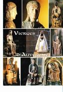VIERGES D' AUVERGNE, Orcival, Vauclair, Clermont-Ferrand, Blesle, Vassivière (Besse), Moussages, Marsat, Heume-l'Eglise, - Auvergne