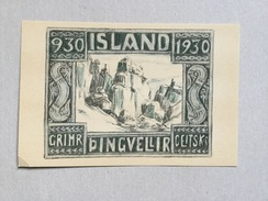 AK  ICELAND    OLD POSTCARD - Island
