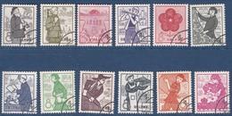 CHINE CHINA 1959    Anniversaire De L'Etablissement Des Communes Populaires. Sans Gomme.  12v/12. - 1949 - ... People's Republic