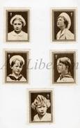 5 Vignetten / ROYALTY / Belgium / Belgique / Princesse Josephine Charlotte / Boudewijn / Prince Baudouin / Prins Albert - Vieux Papiers