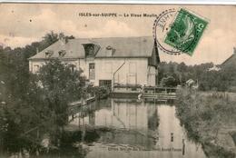 (4) CPA  Isles Sur Suippe  Vieux Moulin   (bon Etat) - Frankreich