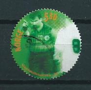 2002 Norway Football,soccer,voetbal 5.50 Nkr Used/gebruikt/oblitere - Noorwegen