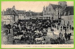 CPA 14 FALAISE Calvados - La Foire Aux Chevaux à La Guibray ° (C. Jeanne) * Marché Cheval - Falaise
