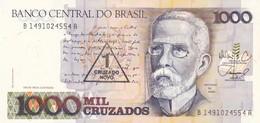BRASILE 1000 CRUZADOS FDS - Brasilien