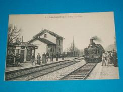 """77 ) Lescherollrs N° 1 - La Gare  """" Train  """"  - Année  - EDIT : - Other Municipalities"""