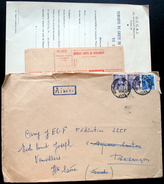 France - Vieux Papiers Fédération Française Des Auberges De La Jeunesse Année 1954 - Collections