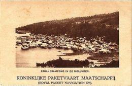 CPA INDONESIA Strandkampong In De Molukken (341822) - Postcards