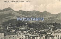 64578 ITALY BIELLA PIAMONTE MOUNT D'OROPA CIRCULATED TO ARGENTINA POSTAL POSTCARD - Italia