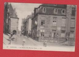 Luxeuil Les Bains  --  La Mairie Et La Rue De Cenire - Luxeuil Les Bains
