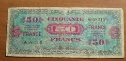 1944 - France - CINQUANTE FRANCS, Impression Américaine - Série 1944 - 66583159 - 1871-1952 Antichi Franchi Circolanti Nel XX Secolo