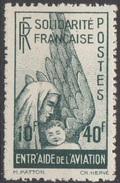 Emissions Colonies Générales Aérien 1944 N° 1 NMH Solidarité Nationale    (D22) - Frankreich (alte Kolonien Und Herrschaften)