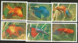 Poissons D'ornement. Série Complète Nr 2679/2684 D'Iran. 6 Timbres Neufs **. Côte 10.00 € - Fishes
