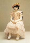 "- Kazuyo OSHIMA. ""Junwa A 10 Ans"" 74 Cm 1990 - Scan Verso - - Femmes Célèbres"