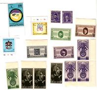 EGYPTE LOT DE TIMBRES NEUFS MNH** + 2 OBLITERES PERFORES / 6969 - Collections (sans Albums)