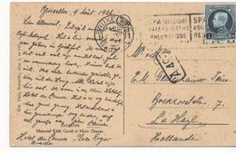 3104  Postal Bruxelles 1926, Belgica, SPA ,Balneario, Reuma, - Bélgica