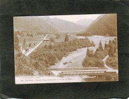 66792     Francia,   Thones,  Pont Et Gare De Morette  Et Vallee Du Fier,  VG  1922 - Thônes
