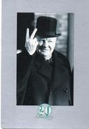CHURCHILL....1er Novembre 1942  Signe De La Victoire..collection 20 Eme Siecle - People
