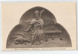 Var - 83 - Draguignan église L'hermentaire Sculpture Du Tympan De La Porte Principale Saint Edition De La Paroisse - Draguignan