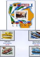 1988 - SIERRA LEONE - Mi. Nr. 1007/1110+ Block 80 -  NH - ( **) - (K-EA-361388.9) - Sierra Leone (1961-...)