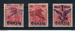 Danzig Michel Nr. 50 - 52 Postfrisch Mit Falz - Danzig