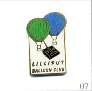 Pin´s Montgolfière - Lilliput Balloon Club. Non Estampillé. EGF. T502-07 - Montgolfier