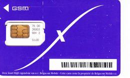 1 Carte GSM BELGIQUE (bon état Mais Pas Luxe) - Belgien