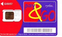 1 Carte GSM BELGIQUE Lot3 (bon état) - Belgien
