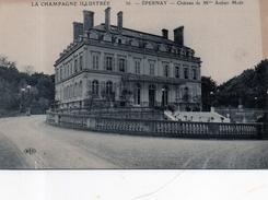 51 - Epernay - Château De Mme Moët - Epernay