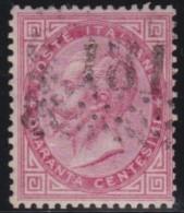 Italy     .        Yvert    .       19            .            O            .          Cancelled - 1861-78 Victor Emmanuel II