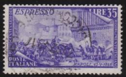 Italy     .        Yvert    .       Express  35           .            O            .          Cancelled - 1900-44 Victor Emmanuel III.