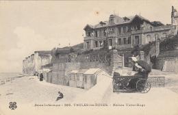 Veules Les Roses 76 -  Voiturette - Cabines Bois - Maison Victor Hugo - Veules Les Roses
