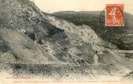 Arnave - Près Tarscon - Extraction Du Gypse - Vue Des Carrière De M Hantsch - Frankrijk