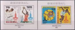 SENEGAL 1980 HB-22/23 NUEVO - Senegal (1960-...)