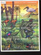 ANTIGUA & BARBUDA   2310  MINT NEVER HINGED MINI SHEET OF BIRDS - Zonder Classificatie
