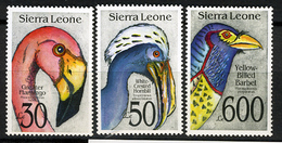 1992 - SIERRA LEONE - Mi. Nr.  1827+1828+1834 -  NH - ( **) - (K-EA-361388.15) - Sierra Leone (1961-...)