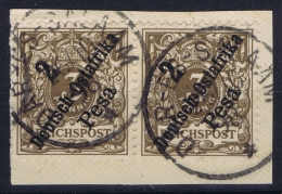 Deutsch-Ostafrika  Mi Nr  Mi Nr 6 D  Paar Gestempelt/used/obl  Dar Es Salaam CDS