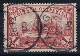 Deutsch-Ostafrika  Mi Nr  19 Gestempelt/used/obl  Tanga CDS - Kolonie: Deutsch-Ostafrika