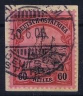Deutsch-Ostafrika  Mi Nr 29 Gestempelt/used/obl - Kolonie: Deutsch-Ostafrika