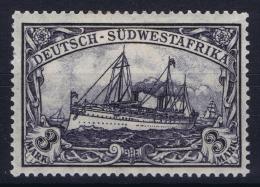 Deutsch Südwestafrika  Mi Nr 31 Bb Schwartzlichgrauviolet MH/* Falz/ Charniere