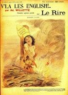 LE RIRE NUMERO SPECIAL V'LA LES ENGLISH  PAR VILLETTE   (NOVEMBRE 1899)(complet 16 Pages) - Livres, BD, Revues