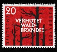 BRD 1958, Michel 283, Postfrisch **, Waldbrandverhütung - Nuovi
