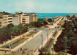 GDYNIA (Polen) - Karte Mit Sondermarken Gel.1970? - Pologne