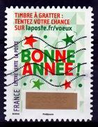 "France, ""Timbre à Gratter"" (5), 2016, VFU - France"