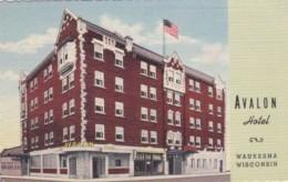 Wisconsin Waukesha The Avalon Hotel Curteich - Waukesha