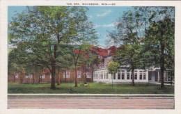 Wisconsin Waukesha The Spa 1940 - Waukesha
