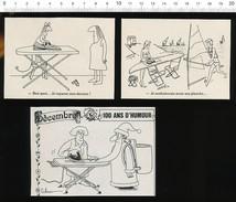 Humour Fer à Repasser Repassage Blanchisserie Iron / VP 198-PF-3 - Non Classés